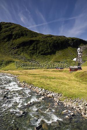 vikafjellet mountain plateau