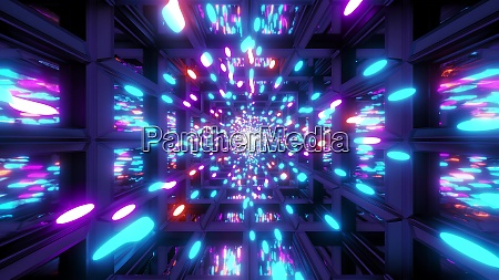 glowing multicolor colorful particle background wallpaper