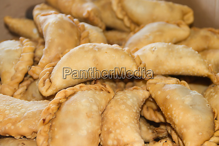 fried empanadas typical of the argentine
