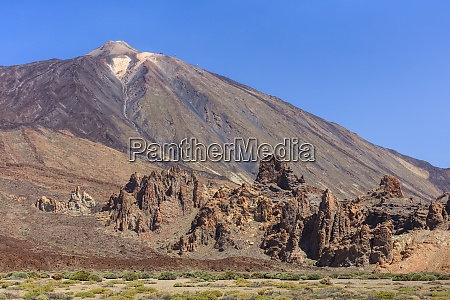 view of mount teide in teide