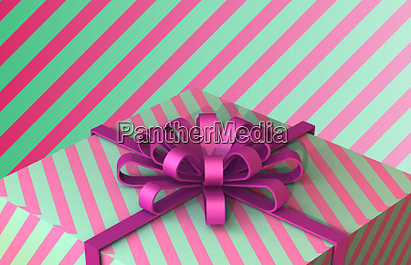 happy birthday and gift box background