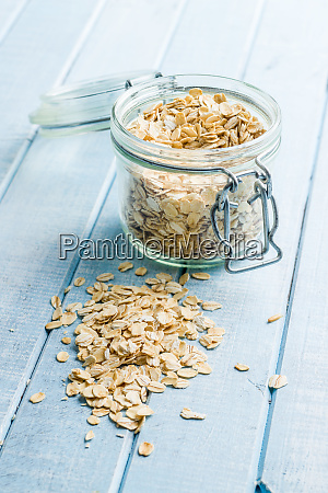 heathy oat flakes