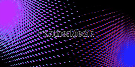 black red blue halfton abstract background