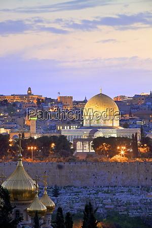 view of jerusalem unesco world heritage