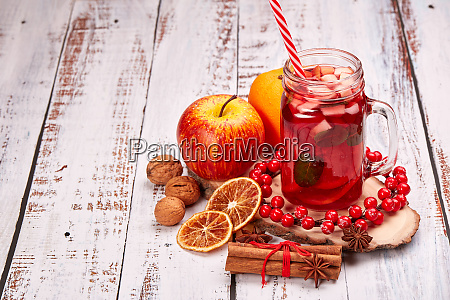 fruit tea christmas treat