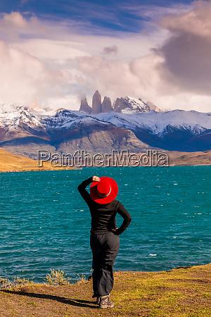 enjoying the beautiful scenery of torres