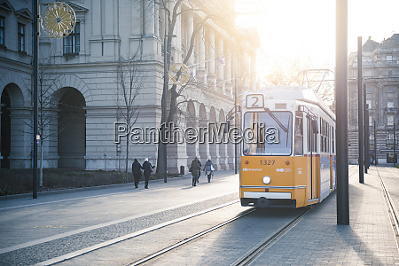tram the main transport system in