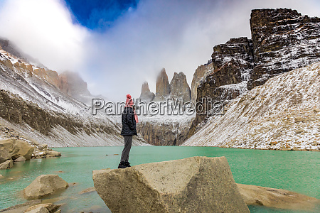 stunning glacial lakes torres del paine
