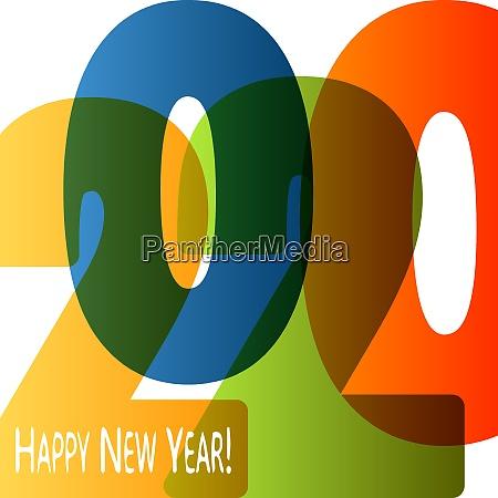 happy new year 2020 background