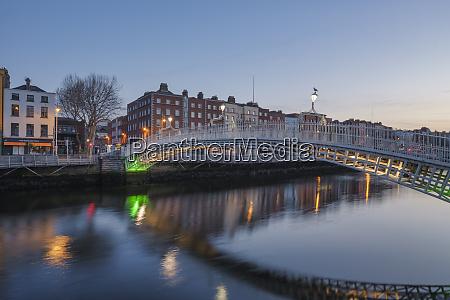 the river liffey dublin republic of