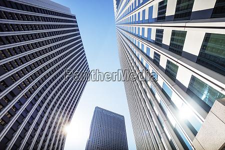 shinjuku skyscrapers tokyo japan asia