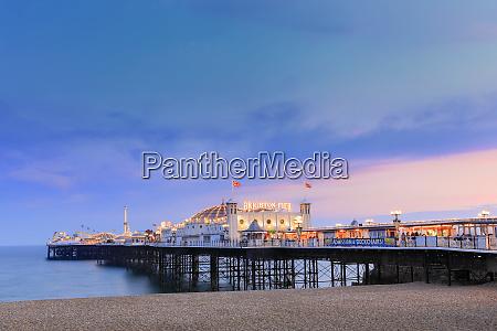 the palace pier brighton pier at