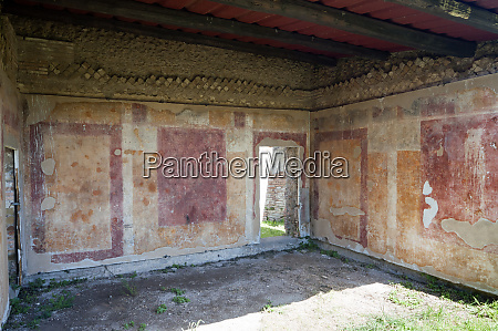 wall paintings case a giardino ostia
