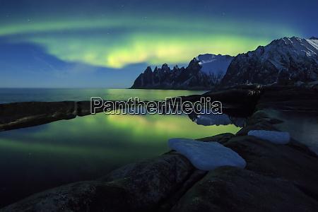 the northern lights aurora borealis and