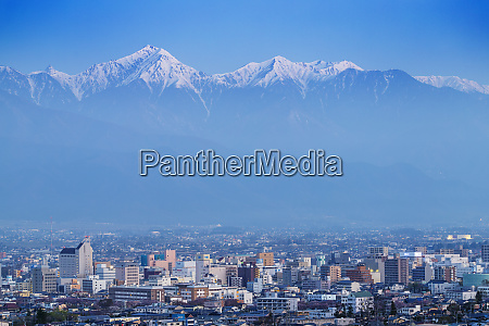 matsumoto city and the japanese northern