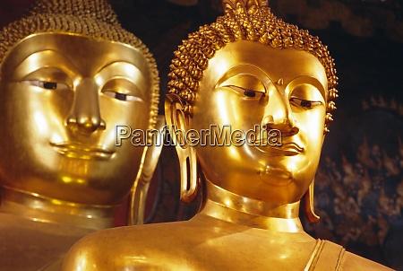 seated buddhas wat bovornives bowonniwet bangkok