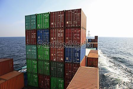 container ship baltic sea sweden scandinavia