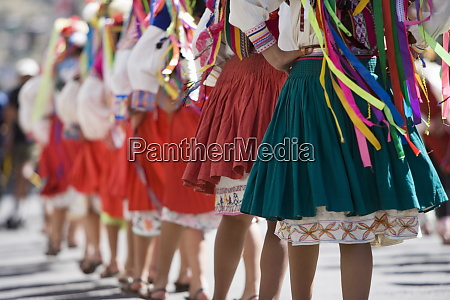 dancers at carnival sucre bolivia south