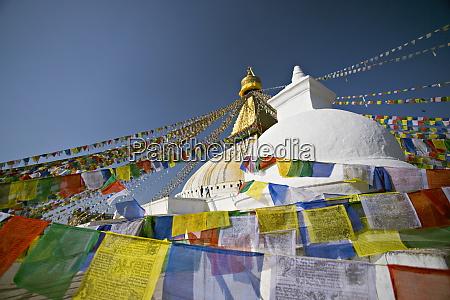buddhist stupa known as boudha at