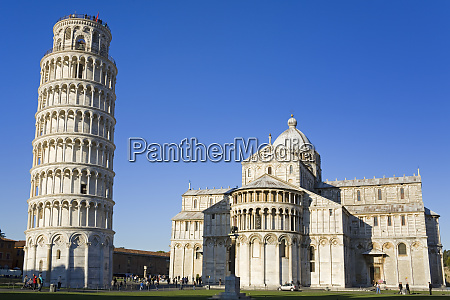 leaning tower and duomo pisa unesco