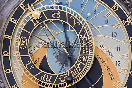 astronomical clock town hall old town