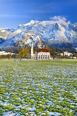 st coloman church oberbayern bavaria germany