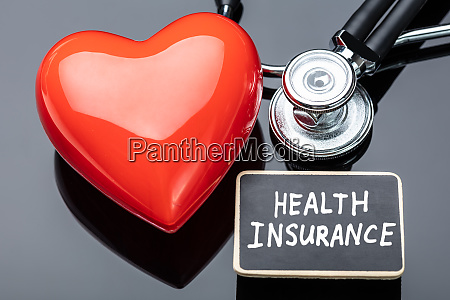 life insurance with stethoscope