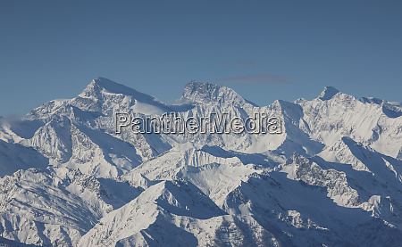 snow covered mountain range in piedmont