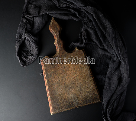 empty vintage wooden brown board and