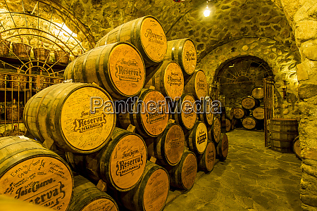 jose cuervo tequila distillery cellar tequila