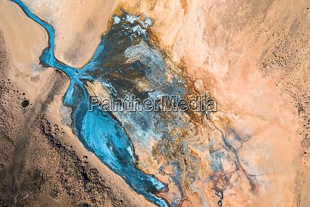 iceland geothermal zone namafjall area