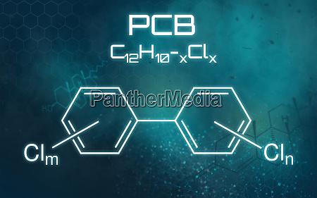chemical formula of pcb on a