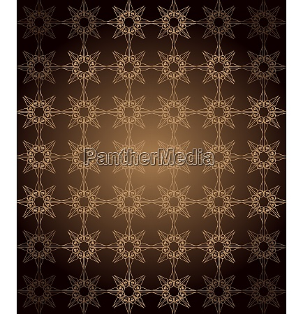 seamless vintage wallpaper with dark color