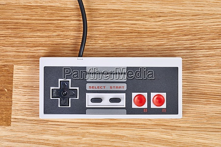 old console gaming controller