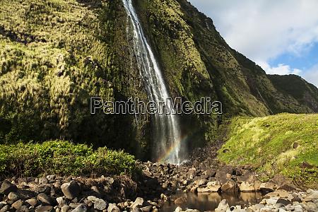 punlulu waterfall lapahoehoe nui valley hamakua