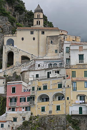 houses in amalfi