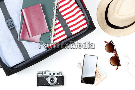 essentials for modern young person travel