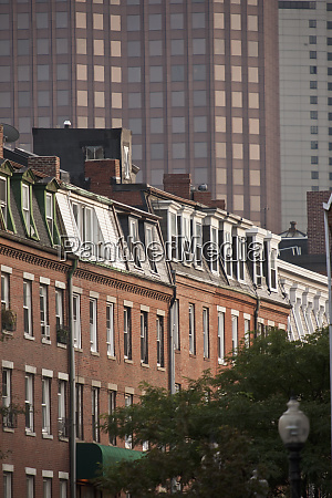 brownstone houses in a city hanover