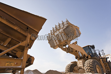 separator and a front end loader