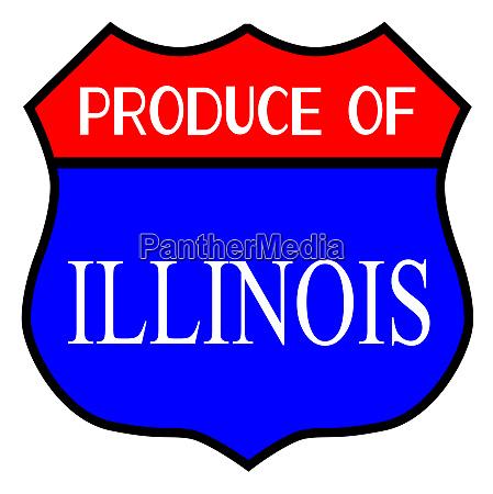 produce of illinois