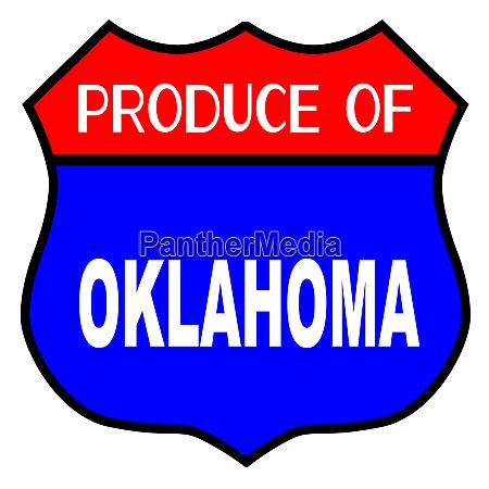 produce of oklahoma