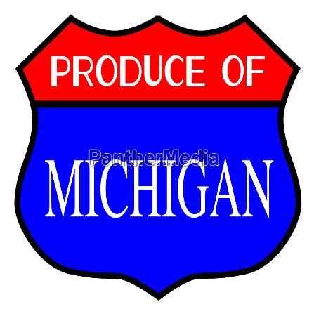 produce of michigan
