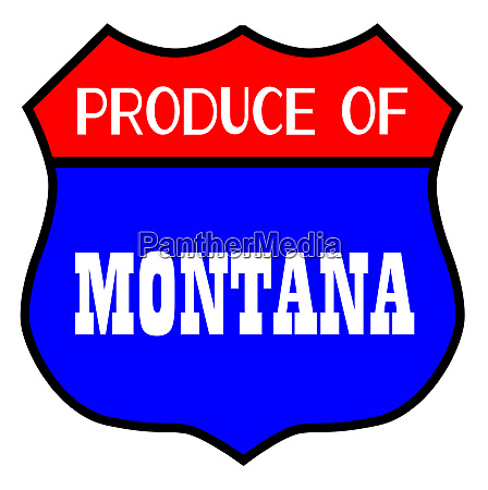 produce of montana state