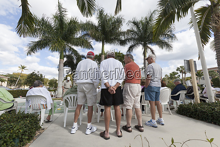 seniors at shuffleboard court