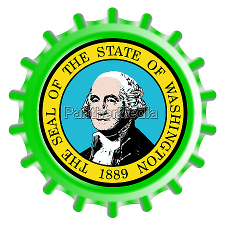 washington state bottle cap