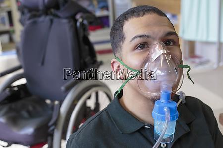 boy with spastic quadriplegic cerebral palsy