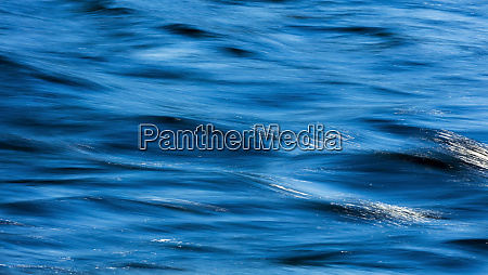 flowing blue water british columbia canada