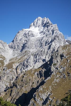 south peak of the watzmann in