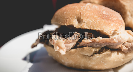 view of traditional portuguese pork beef