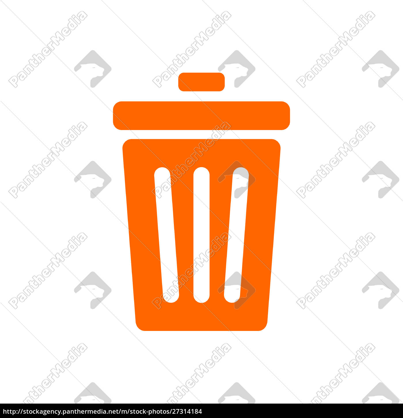 waste, bin, and, background - 27314184